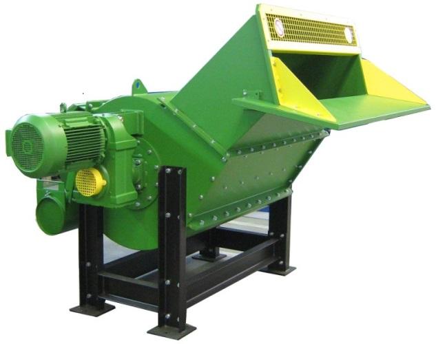 Оборудование для измельчения производственных отходов