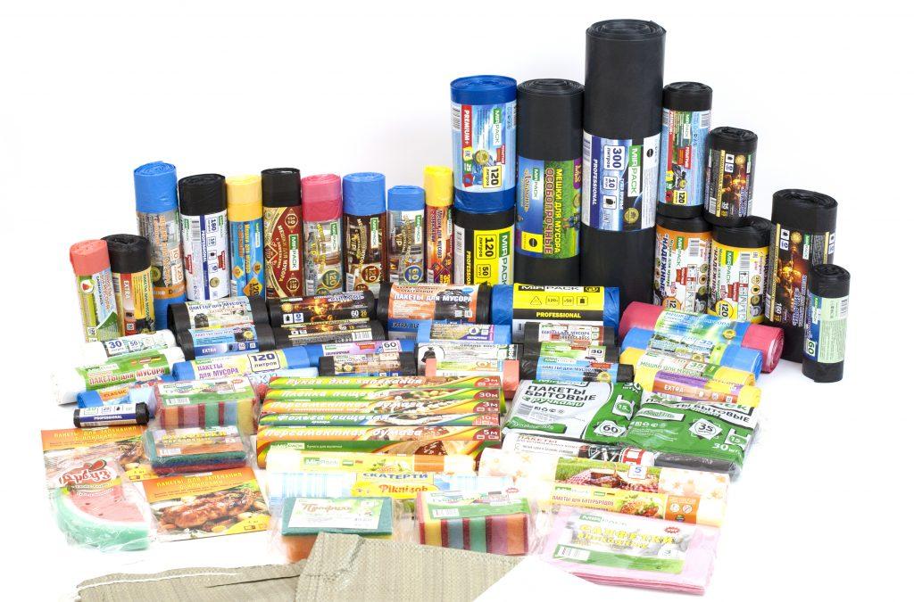 Пакеты для мусора для раздельного сбора